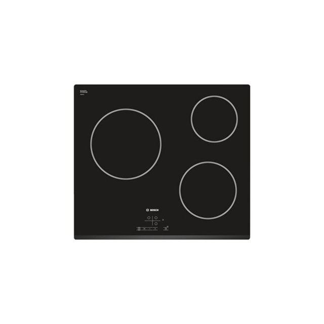 Bosch Plaques vitro-céramiques PKM631B17E 5700W 60 cm Noir