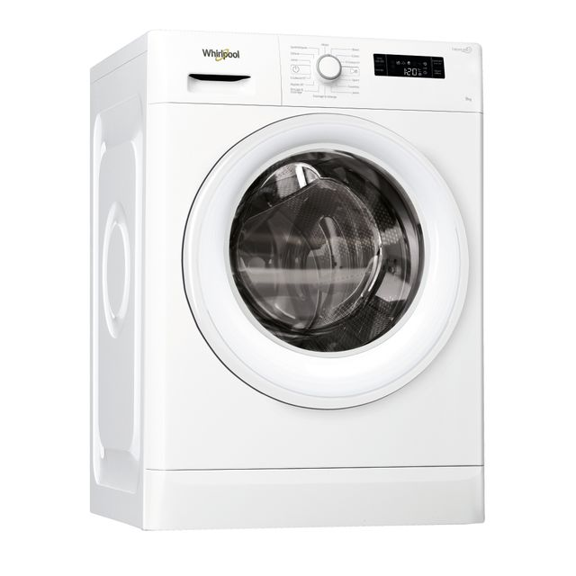 Whirlpool Lave-linge Fresh Care + - FWF91283WFR - Blanc