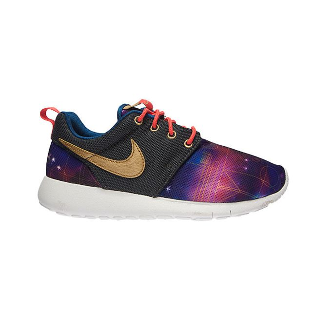 Nike Basket Roshe One Print GS, Bleu 677782 007 40 pas