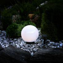 Star Trading - Globe Light - Boule lumineuse d'extérieur Solaire Led à piquer ou poser Ø15cm - Luminaire d'extérieur Best Season designé par