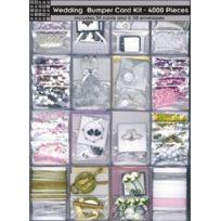 Paper Cellar - Papercellar Kit De Butoir De Carte De Mariage - 4000 Morceaux