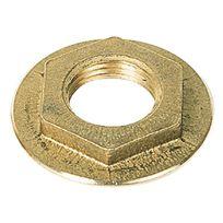 Raccords - Contre écrou plateau laiton Filetage 33 x 42mm Par1