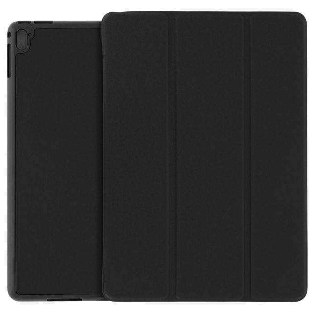 Avizar - Housse Etui Folio Noir Apple iPad Pro 9.7, iPad Air 2 - Fonction Stand
