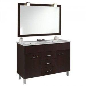 B h meuble sur pieds 120cm bali rh pas cher achat for Miroir des modes 427