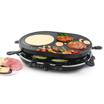 Emerio - Appareil à raclette avec gril 1 200 W Rg-105522