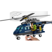 Lego - La poursuite en hélicoptère de Blue-75928
