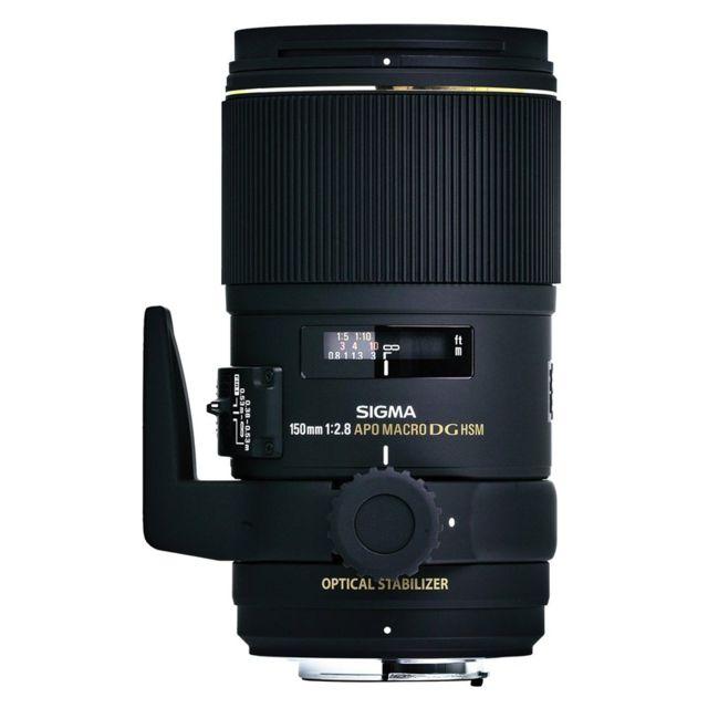 Sigma Objectif 150 mm f/2,8 Apo Macro Dg Os Ex Hsm Sony