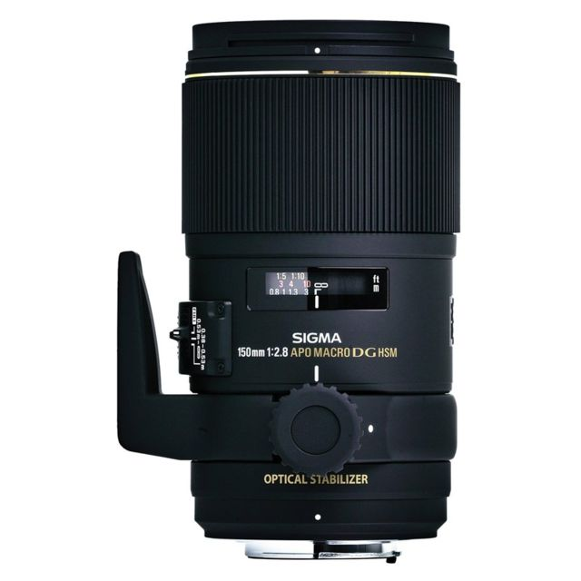 Sigma Objectif 150 mm f/2.8 Apo Macro Dg Os Ex Hsm Nikon Garanti 3 ans