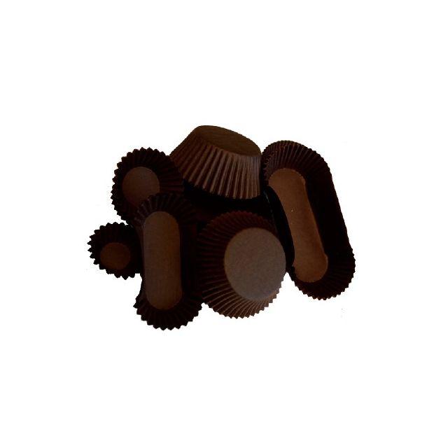 Caissettes brunes