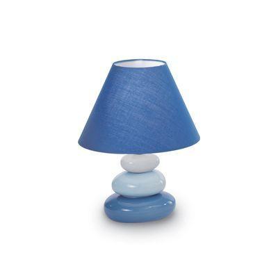 Boutica-design Lampe à poser K2 Bleu 1x40W - Ideal Lux - 035031