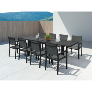 Ims garden hara xl table de jardin extensible - Table de jardin aluminium extensible carrefour ...