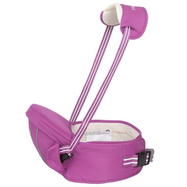 Wewoo - Pour bébé avec bande réfléchissante Violet Porte-bébé ergonomique  avec siège hanche 0 f507670069d