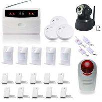 SecuriteGOODdeal - Kit alarme 32 Zones Xxxl Box et camera Ip