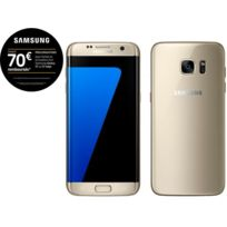 Samsung - Galaxy S7 Edge - Or
