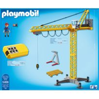 grue de chantier playmobil achat grue de chantier. Black Bedroom Furniture Sets. Home Design Ideas