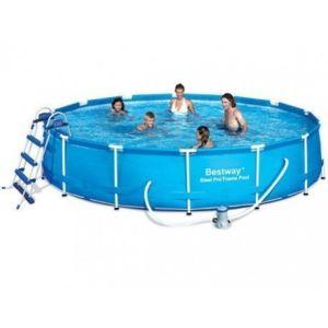 best way piscine tubulaire ronde bestway 4 57m x 91cm. Black Bedroom Furniture Sets. Home Design Ideas