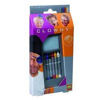Ses Creative - Crayons 6 couleurs Clowny