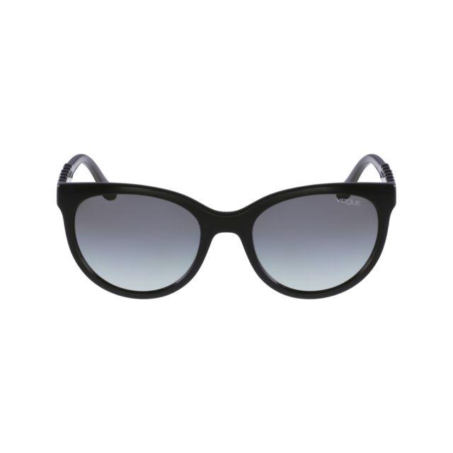 Vogue - Vo-2915-S W44 11 Noir - Argent - Lunettes de soleil - pas cher  Achat   Vente Lunettes Sport - RueDuCommerce 56e0551d197a