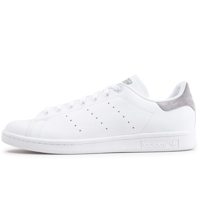 Adidas originals - Stan Smith Blanc Et Gris 40 - pas cher ...