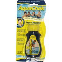 AQUACHEK - 50 bandelettes test pour chlore libre - aquaclph