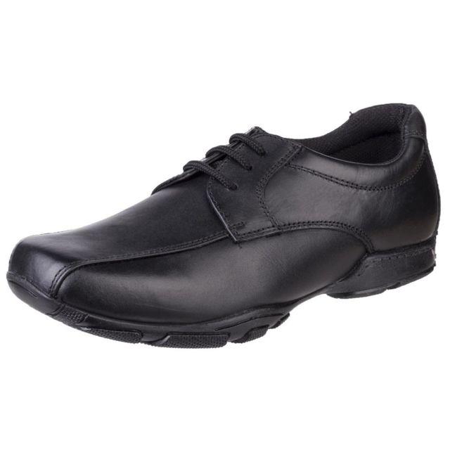 Hush Puppies chaussure d'école secondaire - Enfants 41 Eu, Noir Utfs5676