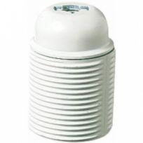 Ebenoid - Douille E27 plastique filetée blanc
