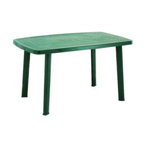 progarden table de jardin faro 140x85 cm vert pas cher achat vente tables de jardin. Black Bedroom Furniture Sets. Home Design Ideas