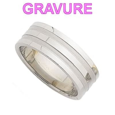 bague homme taille 8