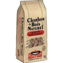 - Charbon de bois épuré 40 L