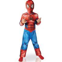 Rubies - Déguisement Classique Spiderman Ultimate - Enfant - Taille : 5-6 ans 105-116 cm