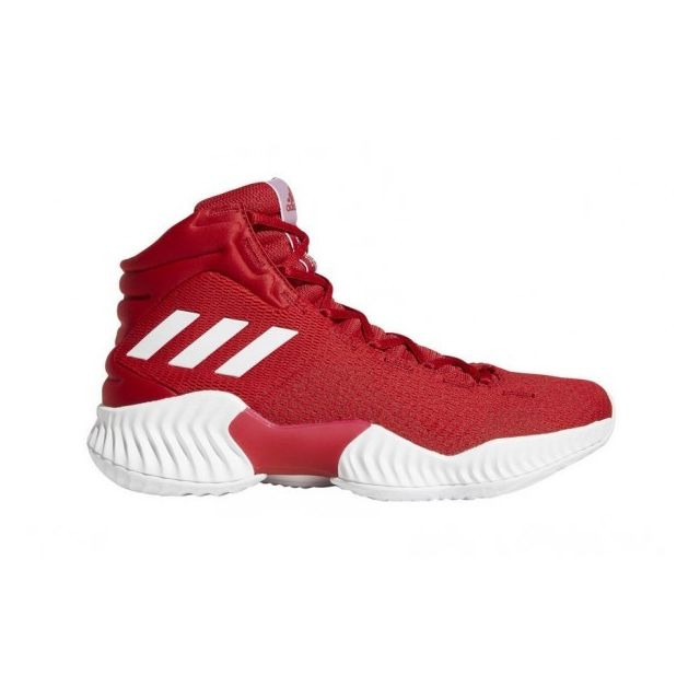 Adidas , Chaussures de Basketball adidas Pro Bounce 2018 Rouge pour homme  Pointure , 44