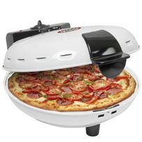 Rocambolesk - Superbe Four à pizza blanc avec pierre 1000 W Bestron Dld9036 Neuf