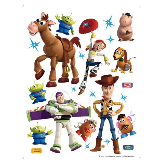Bebe Gavroche - Stickers géant Toy Story Disney Pixar Multicolore ...