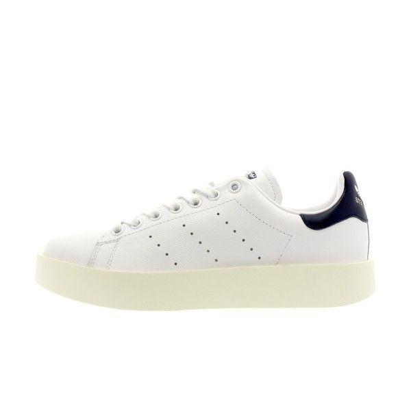 9532943254c749 Adidas originals - Basket Stan Smith Bold - Ref. Ba7770 - pas cher Achat   Vente  Baskets femme - RueDuCommerce