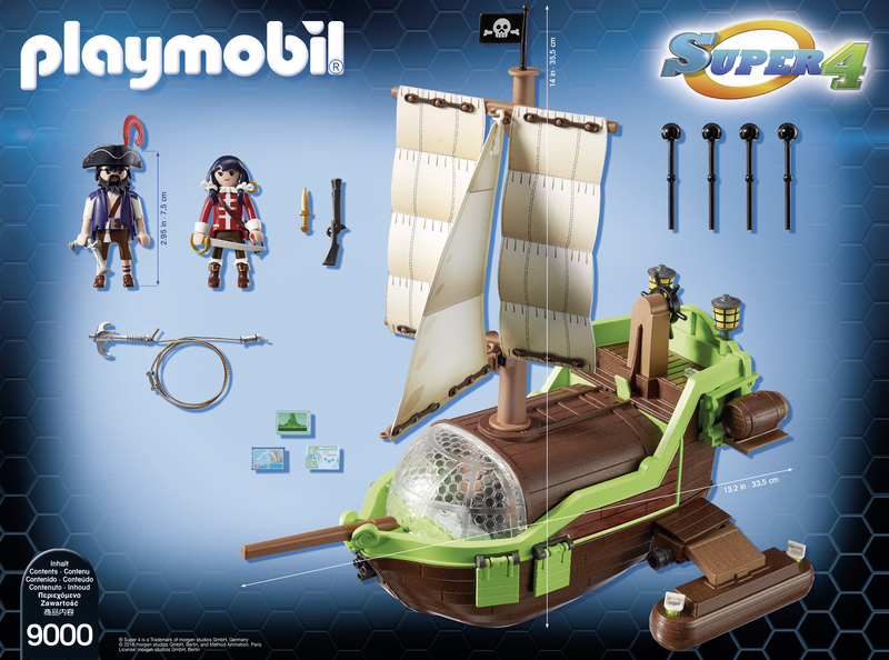 Gunpowder Island Pirateship - 9000