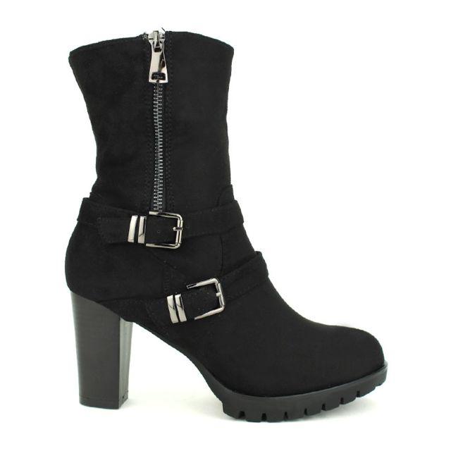Achat Noire Pas Vente Bottine Boots Vivi Queen Cendriyon Cher 4YzqaYH