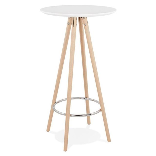 Paris Prix Table de Bar en Bois \