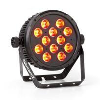 BEAMZ - BT310 FlatPAR projecteur éclairage 12x LED 8W IR DMX télécommande IR
