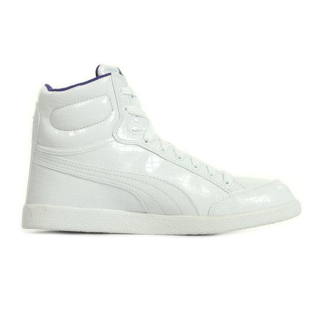 Puma Ikaz Mid V2 Remise | Puma Chaussures d'hiver Femme blanc