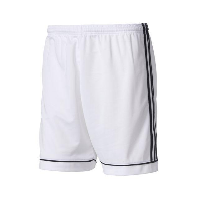 e1ec787317ca8 Adidas performance - Short Adidas Squadra Blanc Junior - pas cher ...