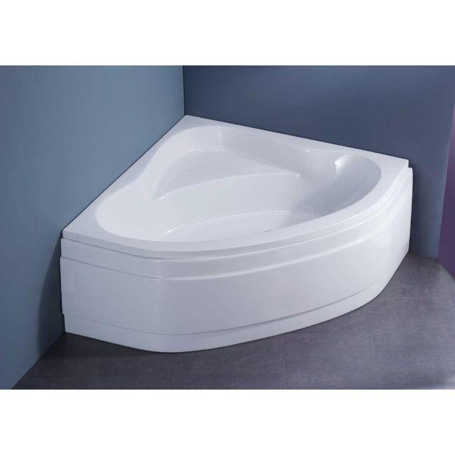 balneo apibain baignoire d 39 angle 135 x 135 cm easy bath. Black Bedroom Furniture Sets. Home Design Ideas