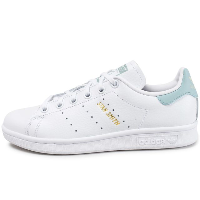 Adidas originals - Stan Smith Junior Blanche Et Bleu Turquoise