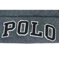 Ralph Lauren - Bonnet Polo gris anthracite pour homme. Plus que 4 articles 160e8d8663a