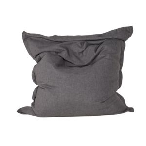 neg 39 import pouf poire en tissu gris anthracite pear pas cher achat vente poufs rueducommerce. Black Bedroom Furniture Sets. Home Design Ideas