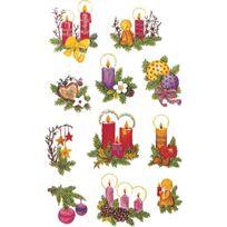 Avery Zweckform - Naklejki Blyszczace Z Design Christmas Stroiki Swiateczne: 4050