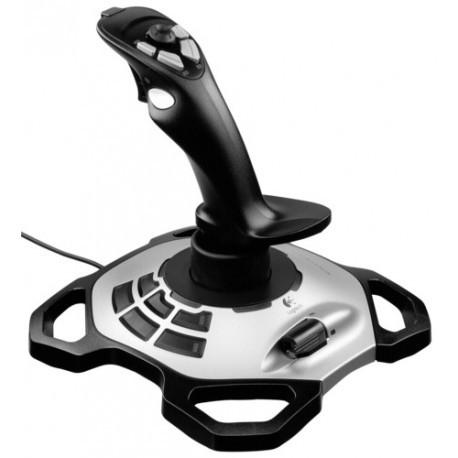 LOGITECH Joystick filaire Extreme 3D Pro - 942-000031 - Noir/Argent