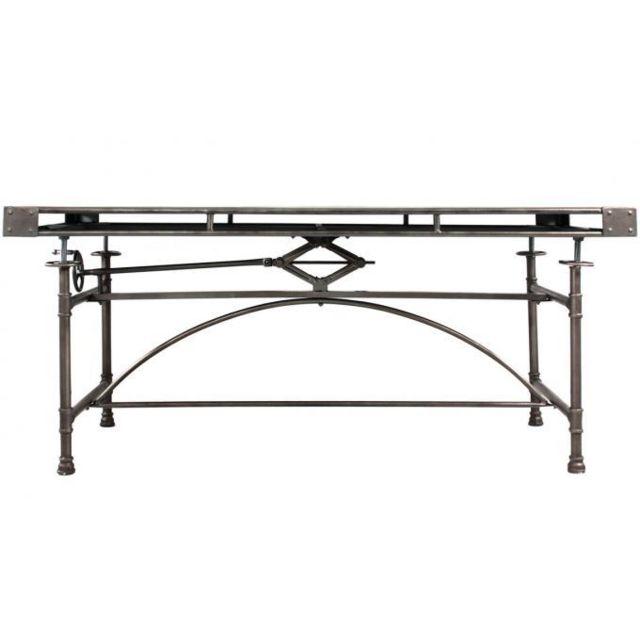 Declikdeco Table En Métal Style Industriel H80 Seval