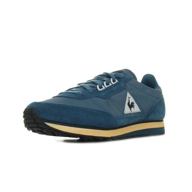 9b9b42713dbd6 Le Coq Sportif - Azstyle Vintage Bleu marine, Orange, Blanc - 46 ...