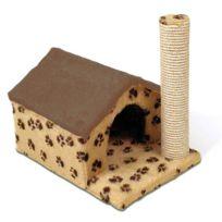 DIFAC - Arbre à chat Félix avec maisonnette