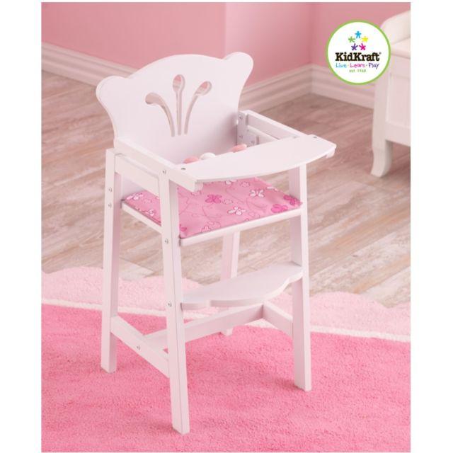 kidkraft chaise haute petite poup e pas cher achat vente poupons rueducommerce. Black Bedroom Furniture Sets. Home Design Ideas